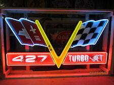 New Corvette 427 Turbo-Jet Neon Sign 8 FT Wide x 4 FT High Neon Sign
