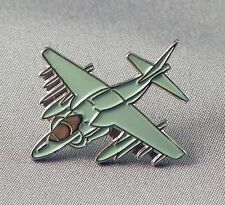 HARRIER - LAPEL PIN BADGE - JUMP JET PLANE VERTICAL TAKE OFF FIGHTER  (DB-37)