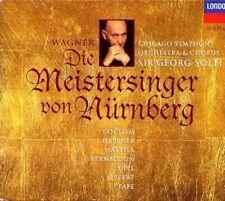 WAGNER - DIE MEISTERSINGER VON NURNBERG - SOLTI - 4 x CD