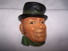 """Bossons Chalk Ware Hand Painted Head England """"Patty"""" C. 1961 #1028"""