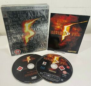 PS3 - Resident Evil 5 Limited Steelbook Edition (Sony PlayStation 3) - UK Stock