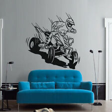 Wall Decal Quad Bike Quadrocycle ATV Race Moto Speed Extrime Children M1463