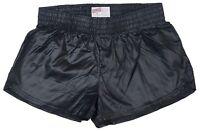 Black Shiny Short Nylon Shorts by Soffe - Size XS