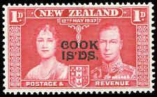 Scott # 109 - 1937 -  ' Queen Elizabeth & King George VI ', New Zealand # 223