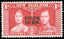 Scott # 109 - 1937 -  ' Silver Jubilee ' - Ovpt. COOK ISLANDS