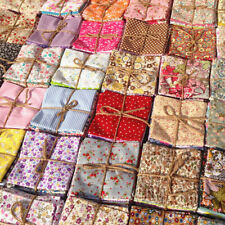 50Pc Quilting Fabric Floral Cotton Cloth DIY Craft Sewing Handmade Accessories