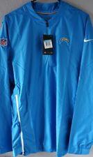 Nike NFL LA Chargers 1/4 Zip Windbreaker Jacket Sz Medium The Field Coaches NWT