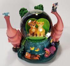 The Lion King 2 Musical Snowglobe Water Globe Kovu and Kiara Plays Upendi