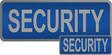Security Reflective Badges
