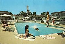 Farm de Ville Motel at Knott's Berry Farm Continental Postcard 1960s