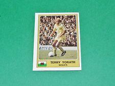N°288 YORATH LEEDS WALES PAYS GALLES PANINI EURO FOOTBALL 1976-1977