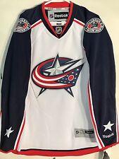 Reebok Premier NHL Jersey Columbus Blue Jackets Team White sz 2X