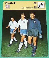 FOOTBALL URSS CCCP LEV YACHINE DYNAMO MOSCOU ARAIGNEE NOIRE