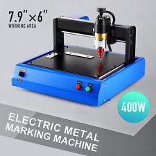 400w 8x6 Electric Cutting Engraving Marking Machine For Metal Plastics Amp More