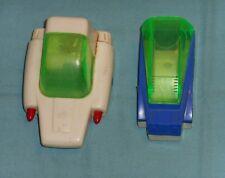 vintage Takara MICROMAN SURVEYOR PARTS LOT #2 vehicles and canopies