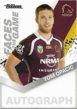 2018 NRL Traders Faces of the Game (FG 2 / 64) Tom OPACIC BRONCOS