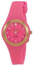 Kate Spade 1YRU0608 Rumsey Pink Dial Pink Silicone Strap Women's Watch