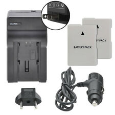 Dual Battery EN-EL14a & Charger Kit for Nikon D3300 D3200 D3100 Df
