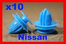 10 Nissan porte carte carénage PANNEAU moulage FIXATION CLIPS bordure attache