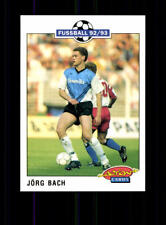 Jörg Bach Wattenscheid 09 Panini Action Card 1992-93 + A 183086