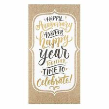 "Hallmark Happy Anniversary Card ""Time To Celebrate"" - Medium Greeting Card"
