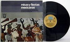 MISAS Y FIESTAS MEXICANAS - LP como nuevo, EX EX - Spain 1975