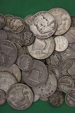 MAKE OFFER 2 Troy Ounces Silver Junk Coins Ben Franklin Mercury Roosevelt