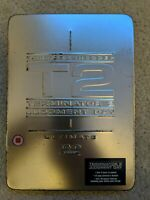 Terminator 2, T2 Judgement Day Ultimate Edition 2 disc in collectors tin