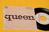 "QUEEN 7"" 45 WE ARE THE CHAMPIONS 1°ST ORIG UNGHERIA NM UNICA COPERTINA DIFFERENT"