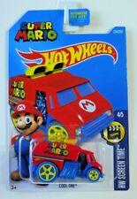 2016 Hot Wheels #224 COOL-ONE HW Screen Time Series #4/5 (Super Mario)