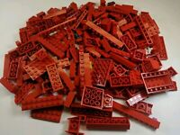 200 Random LEGO Red Bulk Lot of Bricks Plates Specialty Parts Pieces
