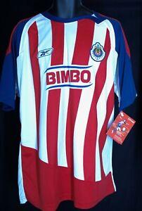 NEW Reebok Soccer Jersey Men's XL Chivas Club Deportivo Guadalajara Toyota