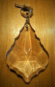 1  Stück - Pendel - Barockpendel - Lüster Kronleuchter - Glas - 90 mm