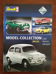 REVELL DIE-CAST COLLECTION 2004»2005 CATALOGUE CARS AIRCRAFT TRUCKS