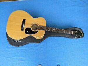 Vintage 1975 Epiphone FT-130 Guitar, vintage case, wonderful tone, easy to play.