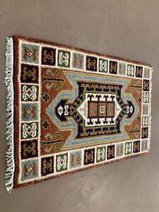 Super Super Indian Hand Woven Heriz Kazak Serapi 2x3 Colorful Rug