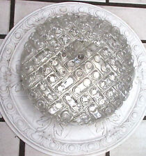 plafonier chandelier Flush mount  MIDCENTURY  bubble glass top condition