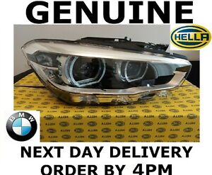GENUINE BMW 1 Series F20 F21 LCI Hella LED Headlight Right Driver 2015-2019