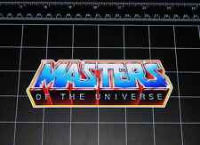 80's Masters of the Universe tv show decal sticker he-man he man skeletor motu