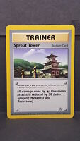 Sprout Tower 97 Neo Genesis Uncommon Pokemon Card Near Mint
