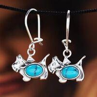 Türkis Silber 925 Ohrringe Damen Schmuck Sterlingsilber H254