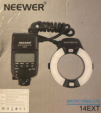 Neewer NW-14EXT Macro Ring Light/ Macro Flash for  Canon