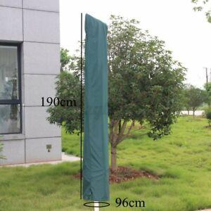 Garden Patio Parasol Umbrella Cover Bag Green Fit 7ft Umbrella Draw Strin