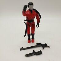 Vintage 1991 Gi Joe Ninja Force Slice Action Figure with Sword and Knife