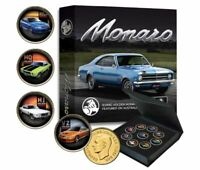 HOLDEN MONARO Gold-plated Penny 9 Coin Collection