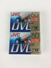 Jvc Mini-Dv Dvc 60 Digital Video Cassette Blank 90 Min (Factory Sealed)