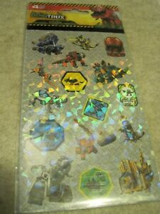 DINOTRUX Stickers Pack of 4 Sheets Sealed 2015