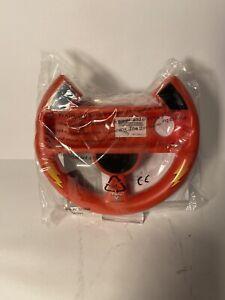 Walt Disney Pixar's Cars Lightning McQueen Red Nintendo Wii Steering Wheel