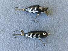 Heddon Tiny River Runt & Heddon Tiny Torpedo Lures- Both In Very Good Condition