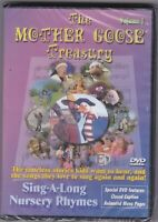 The Mother Goose Treasury Vol. 1 DVD New / Sealed Sing- A-Long Nursery  Ryhymes